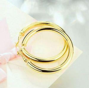 Jewelry - ✨Bold Gold Plated Hoop Earrings✨